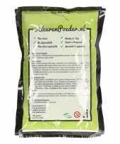 Feest groene kleurenpoeders 100 gram