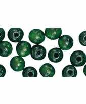 Feest groene kralenset 52 stuks