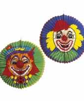 Feest grote clowns lampion rond