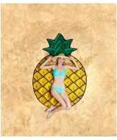 Feest grote handdoek ananas 150 cm