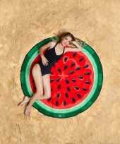 Feest grote handdoek watermeloen 150 cm