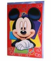 Feest grote mickey mouse verjaardagskaart