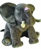 Feest grote pluche olifant knuffel 70 cm
