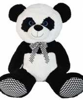Feest grote pluche panda beer knuffel dier 70 cm