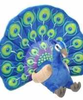 Feest grote pluche pauw knuffel 66 cm