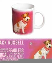 Feest grote theemok jack russell