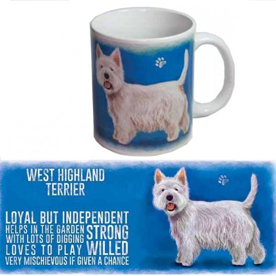 Feest grote theemok west higland terrier