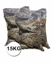 Feest grote verpakking confetti snippers ca 15 kilo