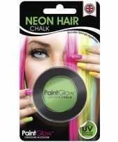 Feest haarkrijtjes uv groen