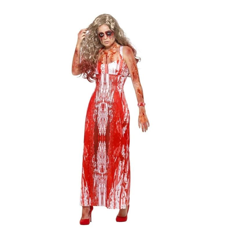 Feest halloween carrie kostuum voor dames