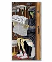 Feest halloween deurposter magere hein toilet