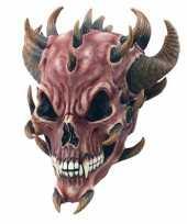Feest halloween duivel masker