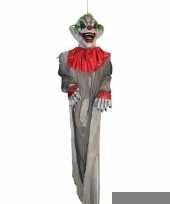 Feest halloween halloween versiering hangdecoratie horror clown pop 360 cm