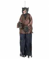Feest halloween halloween versiering weerwolf pop 150 cm