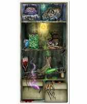 Feest halloween horror koelkast scenesetter deurposter halloween 76 x 152 cm