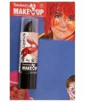 Feest halloween horror mat zwarte lippenstift lipstick
