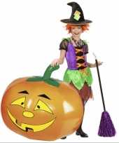 Feest halloween pompoen opblaasbaar