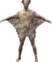 Feest halloween vleermuis morphsuits