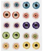 Feest halloween zelfklevende gekleurde 3d hobby ogen oogjes