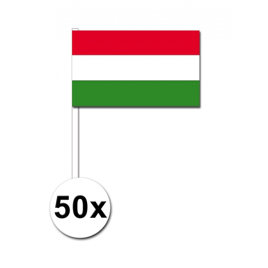 Feest handvlag hongarije set van 50