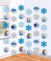 Feest hangdecoratie slingers frozen 2 meter