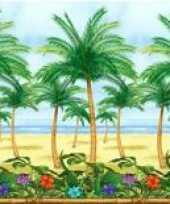 Feest hawaii of tropische palmboom deco rol