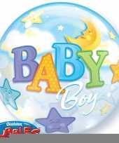 Feest helium ballon geboorte jongetje