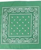 Feest hobby doek donkergroen 55x55 cm
