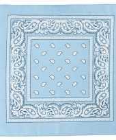 Feest hobby doek lichtblauw 55x55 cm