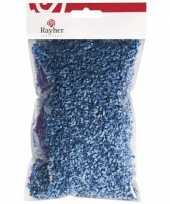 Feest hobby gras blauw 50 gram
