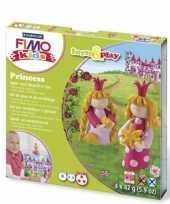 Feest hobbymateriaal fimo kids pakket prinsessen