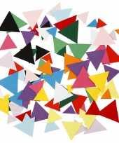 Feest hobbypapier driehoekjes 180 gram