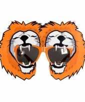Feest holland leeuwen bril oranje