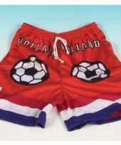 Feest holland supporter shorts oranje
