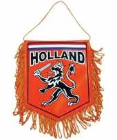 Feest holland supporters autovlaggen 15 x 10 cm