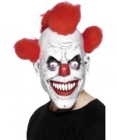 Feest horror clownsmasker voor volwassenen