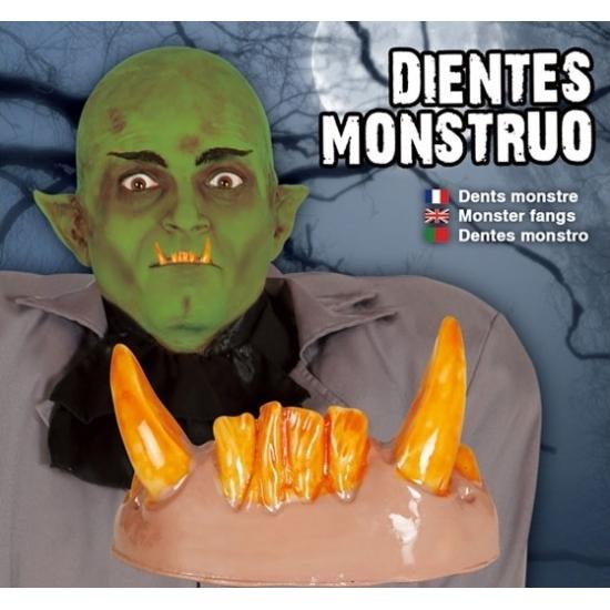 Feest horror gebit met goblin tanden