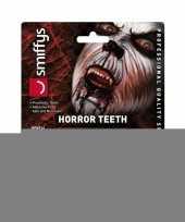 Feest horror gebit weerwolf tanden voor volwassenen