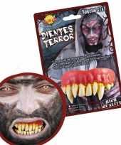 Feest horror gebitje met monster tanden
