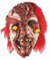 Feest horror gele ogen masker