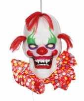 Feest horror hangdecoratie horror clown 60 cm
