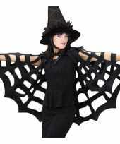 Feest horror spinnenweb cape