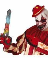 Feest horror verkleed schaar gekleurd 40 cm