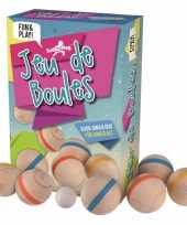 Feest houten jeu de boules speelgoed