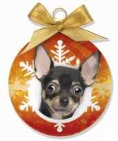 Feest huisdier kerstballen hond 10075016