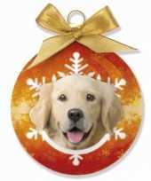 Feest huisdier kerstballen hond 10075024