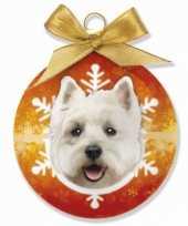 Feest huisdier kerstballen hond