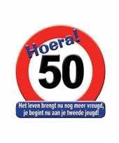 Feest hulde stopborden 50 jaar