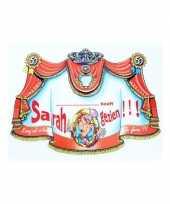 Feest huldebord verjaardag persoonlijk 50 jaar sarah