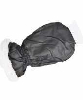 Feest ijskrabber met zwarte handschoen 10099210